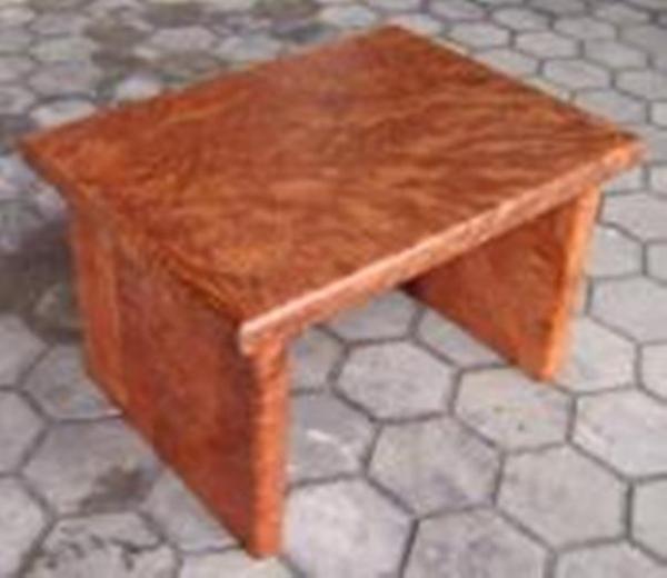 bergholz holzimport gmbh couchtisch redwood unikat 80x60 cm h he 50 cm. Black Bedroom Furniture Sets. Home Design Ideas